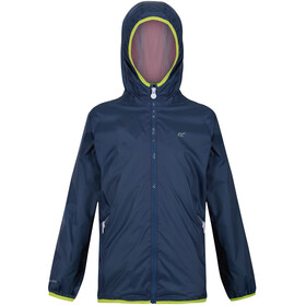 Regatta Lever II Waterproof Shell Jacket Kids, dark denim